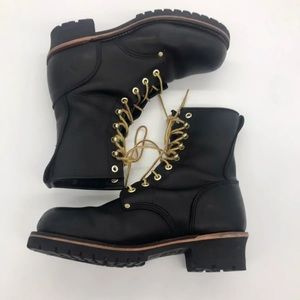 Georgia Boot's logger boot
